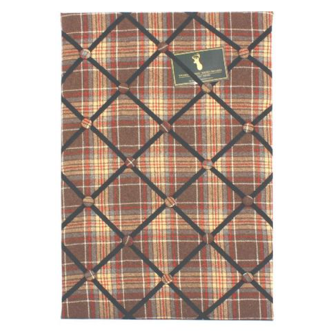 Tweed Wool Fabric Covered Notice Board